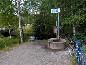 Juomapiste Kivijärven Myllyperällä